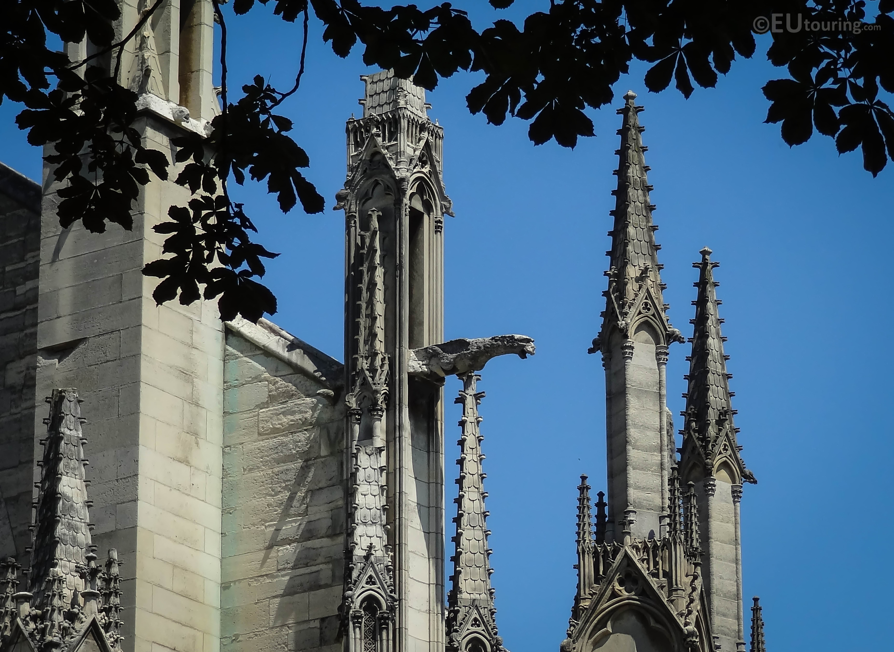 Gargoyle from a spire