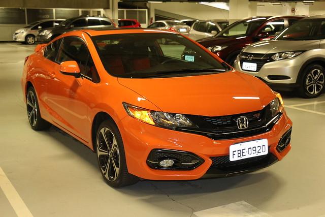 Teste novo Civic Si 2015