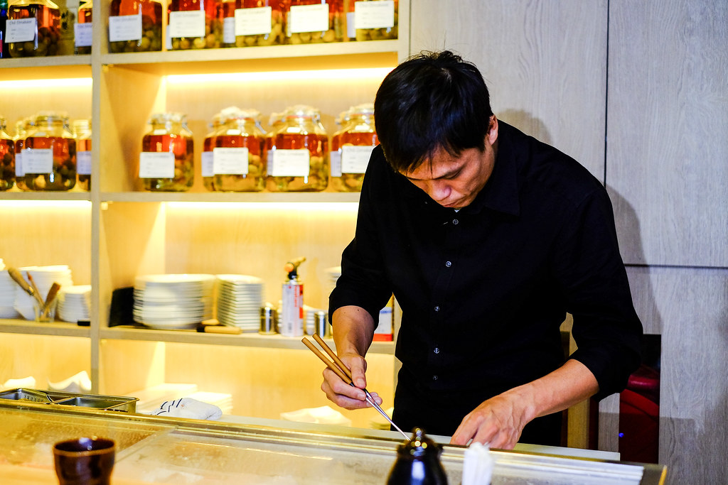 Cho Omakase: Chef, YK Chong