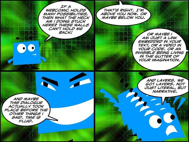 Webcomics as disruptive narrative
