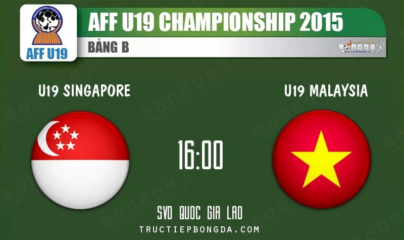 U19 Singapore vs U19 Việt Nam