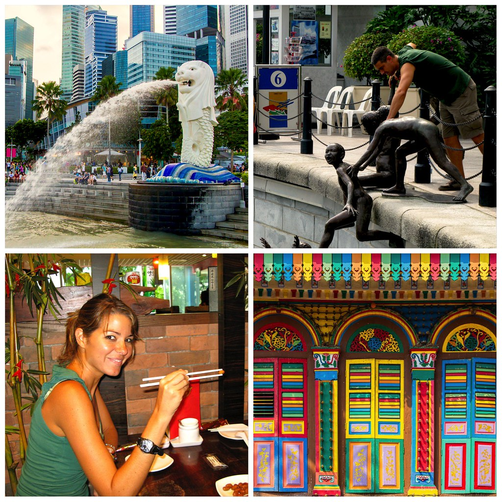 Singapur, Asia