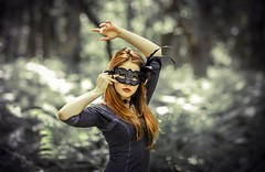 Beautiful Model Girl Wear Mask HD Wallpapers Background | HD Wallpapers
