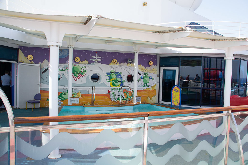 Kids pool area on Celebrity Constellation