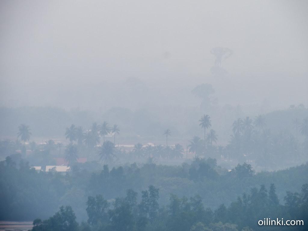 Fog in Phuket, Thailand