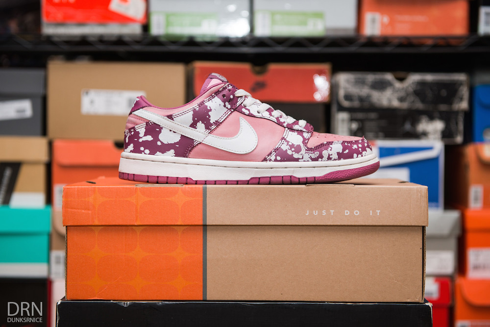 Women's Splatter Dunk Lows.