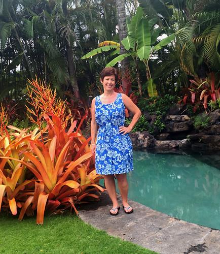 blue batik on me2