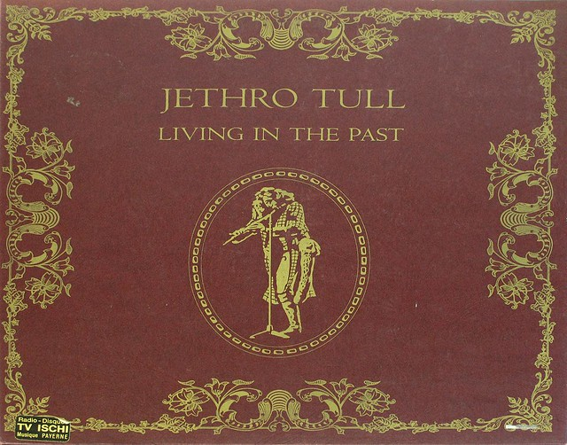 "Jethro Tull Living in the past Germany FOC 12"" Vinyl LP"