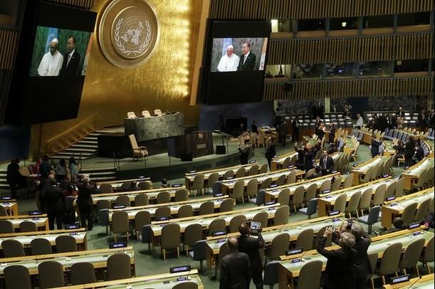 El 'narco' mata en silencio a millones, condena el Papa en la ONU