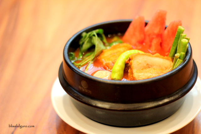 Simple Lang Restaurant Makati City Sinigang Na Crispy Bagnet Sa Watermelon