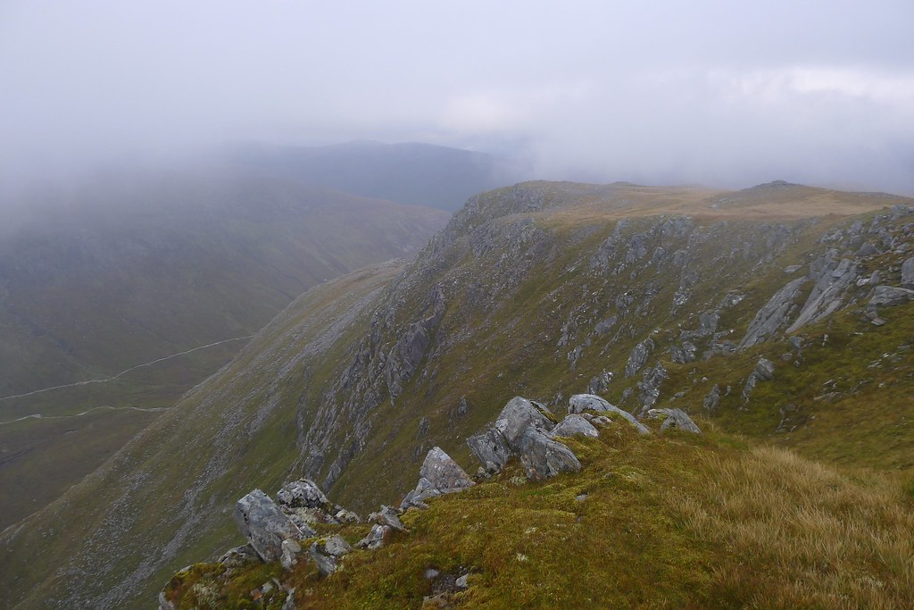 Mist over Coire Doe
