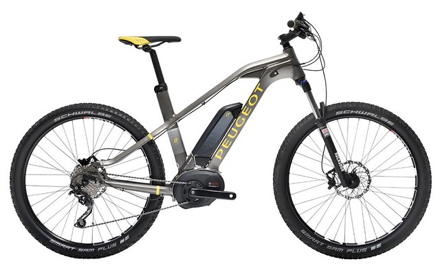 "Peugeot eM01 MTB • <a style=""font-size:0.8em;"" href=""https://www.flickr.com/photos/ebikereviews/21491928199/"" target=""_blank"">View on Flickr</a>"