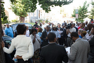 September 15, 2015 Job Training Opportunities Presser & Rosedale Neighborhood Community Walk