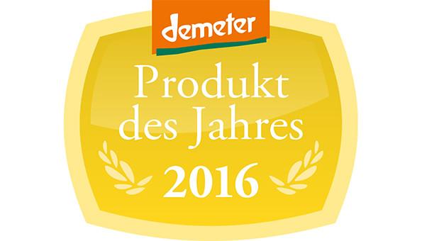 Demeter-Produkt des Jahres 2016