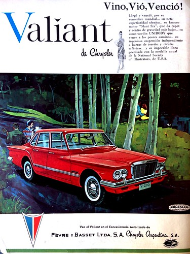 Valiant de Chrysler (Argentina) - Mecánica Popular 1963