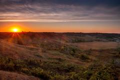Loess Hills sunrise