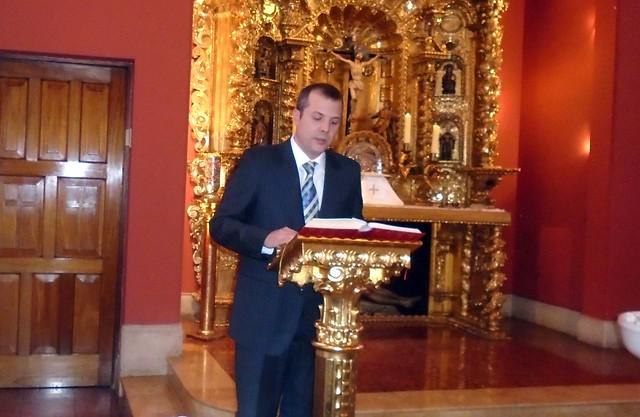 El bautizo de  Alejandro Maúrtua Tudela