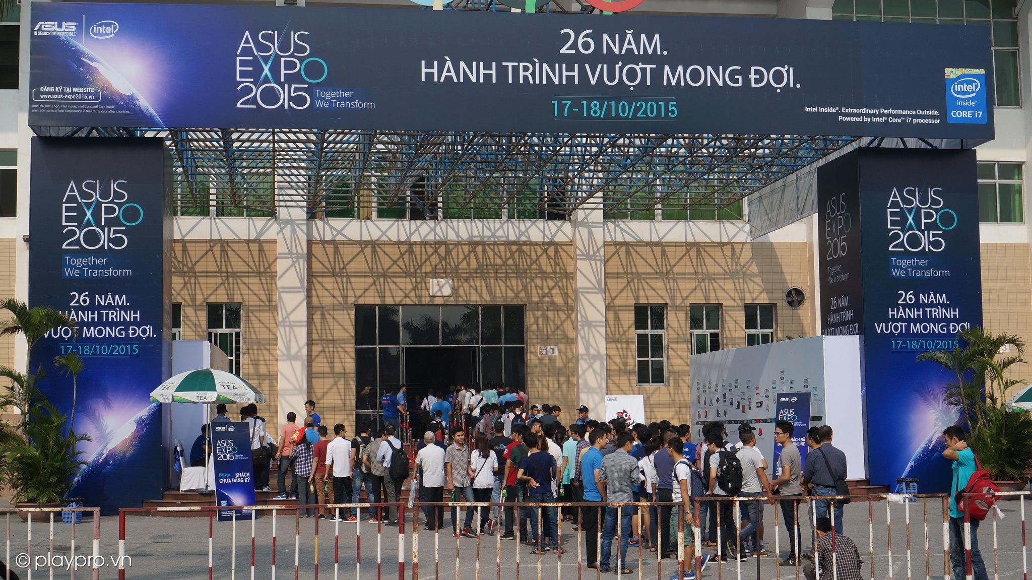 Event Asus Expo 2015 - Hanoi