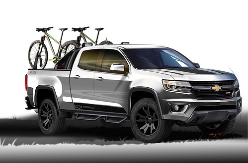 2014 Chevrolet Colorado Sport Sketch - SEMA
