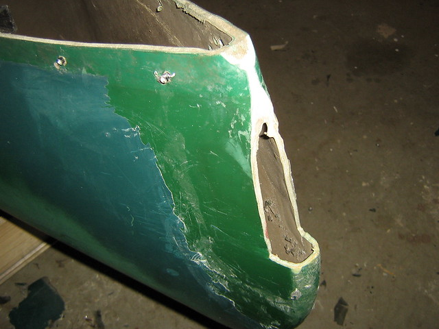 how to repair a cracked fiberglass canoe. Black Bedroom Furniture Sets. Home Design Ideas