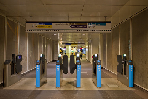 TransLink Compass Card Gate