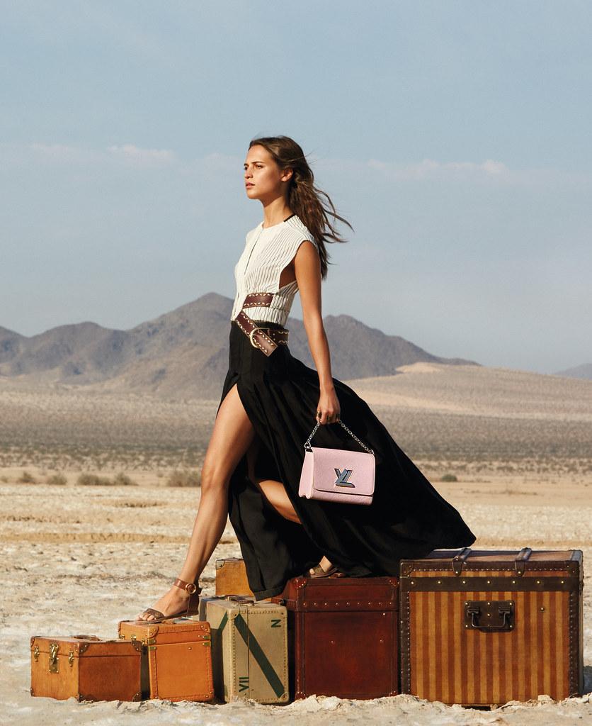 Алисия Викандер — Фотосессия для «Louis Vuitton» ST 2015 – 3