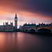 London - Last Light Over Westminster by kenny mccartney