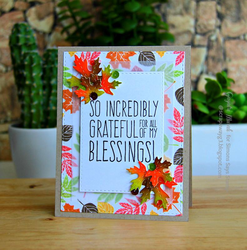 SSS thanksgiving card