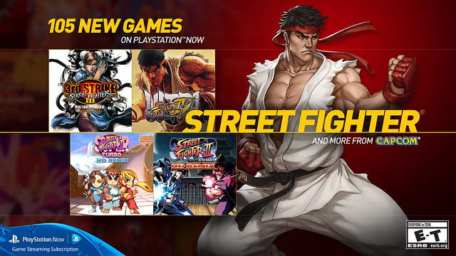 PS Now - Street Fighter