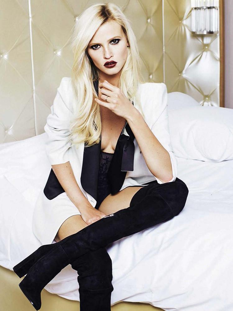 Лара Стоун — Фотосессия для «Glamour» ES 2015 – 5