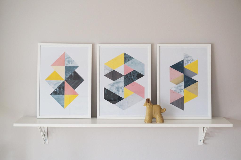 Illustrationer med skandinavisk design från Etsy | Matildigt