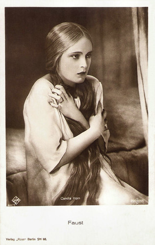 Camilla Horn in Faust (1926)