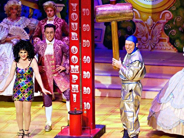 Cinderella, Brian Conley, Dangerous Brian, Lesley Joseph, pantomime