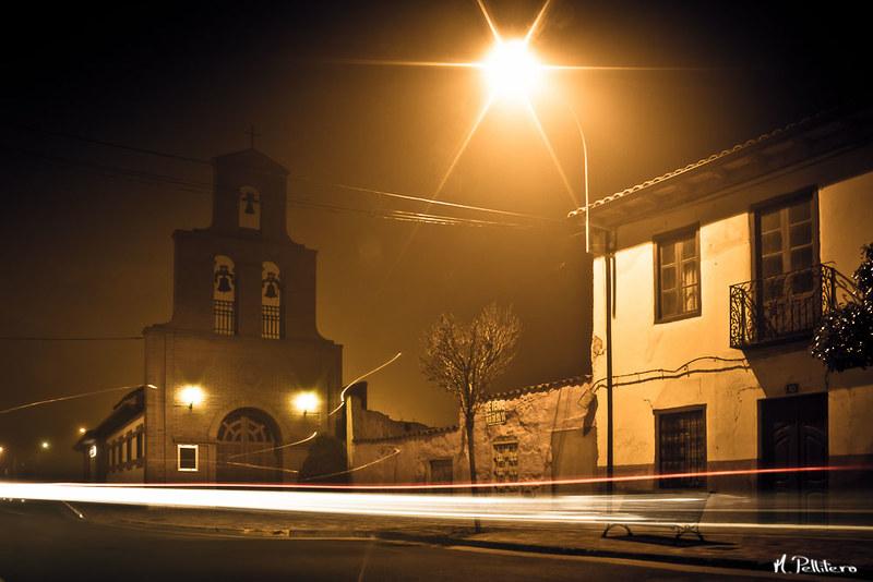 Santa Maria del Páramo: Noche de Niebla - Ermita