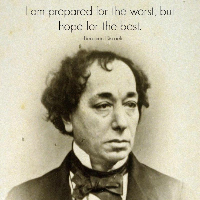 Benjamin Disraeli by H Lenthall, c. 1870