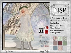 NSP Country Lace Dress - V6