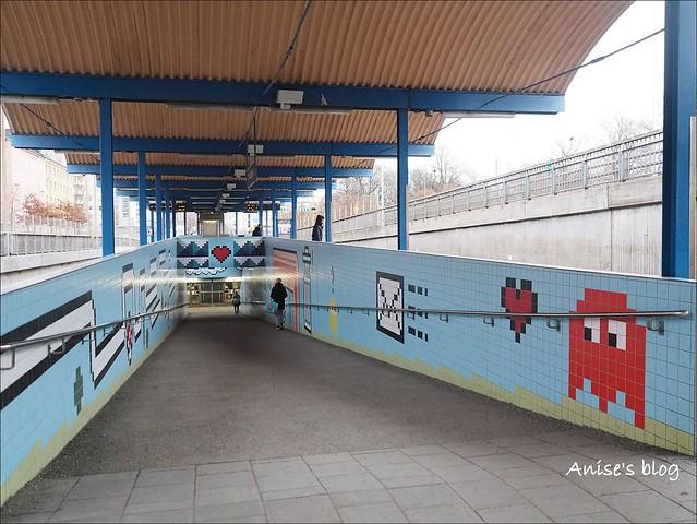 斯德哥爾摩藝術地鐵075
