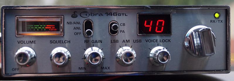 RD15026 Vintage Cobra 146 GTL AM SSB CB Radio DSC07763
