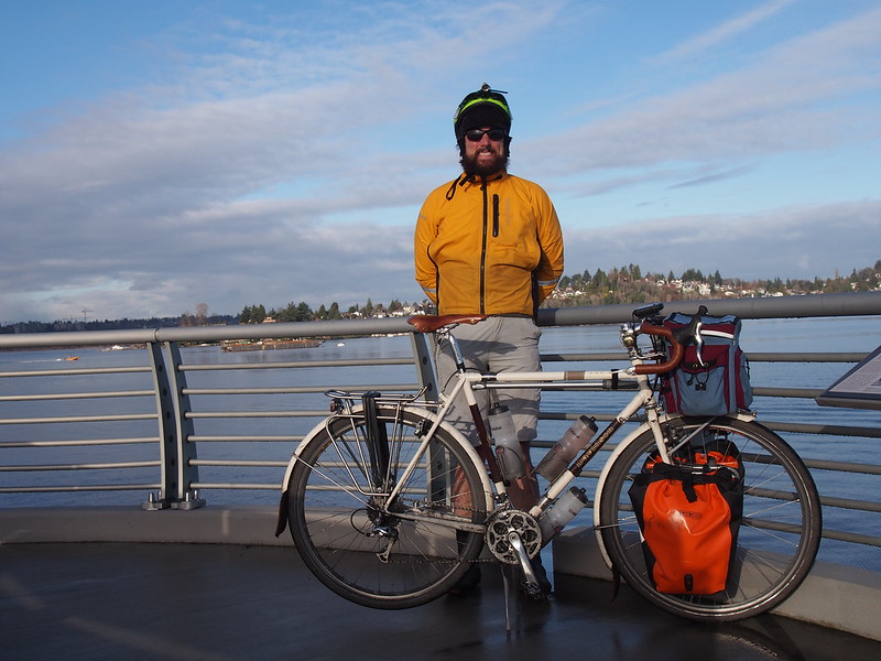 Neil and Ivory Pass on Evergreen Point Floating Bridge