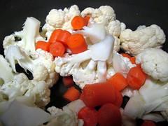 Carrots And Cauliflower.