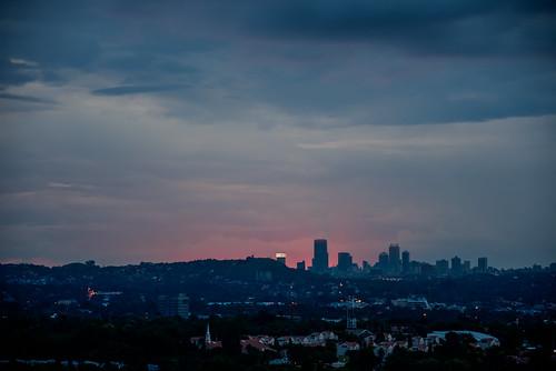night johannesburg lights sunset sunrise dusk dawn nikon city capital sun helvetia house clouds cloud sky outdoor longexposure southafrica explore flickrexplore exploreflickr