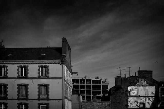 Rennes streets Mars, Nikon D610, PC-E Micro Nikkor 45mm f/2.8D ED