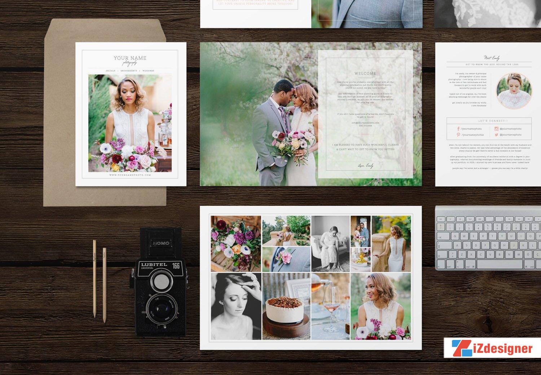 PSD Tạp chí ảnh cưới cho Nhiếp ảnh gia