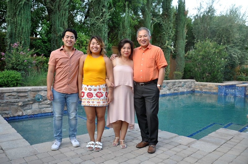Dr. John Lo and family