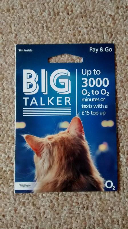 o2 bigtalker tariff