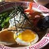 Hot weather = cold ramen special w/ shrimp at Noraneko!
