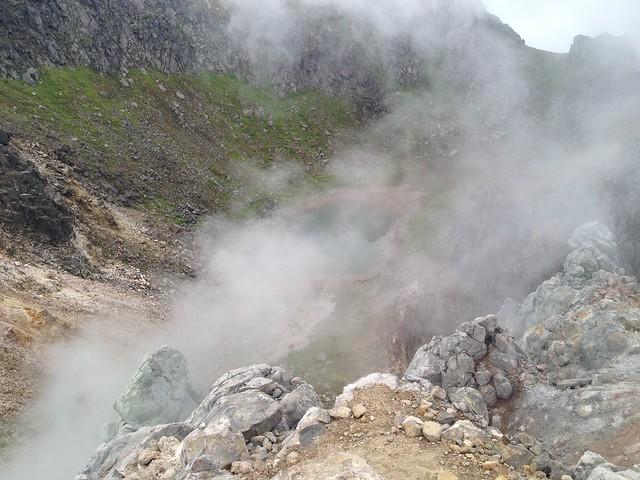 焼岳 火口湖