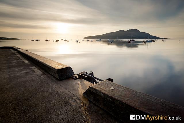 Lamlash Pier & Holy Isle [IMG_1611]