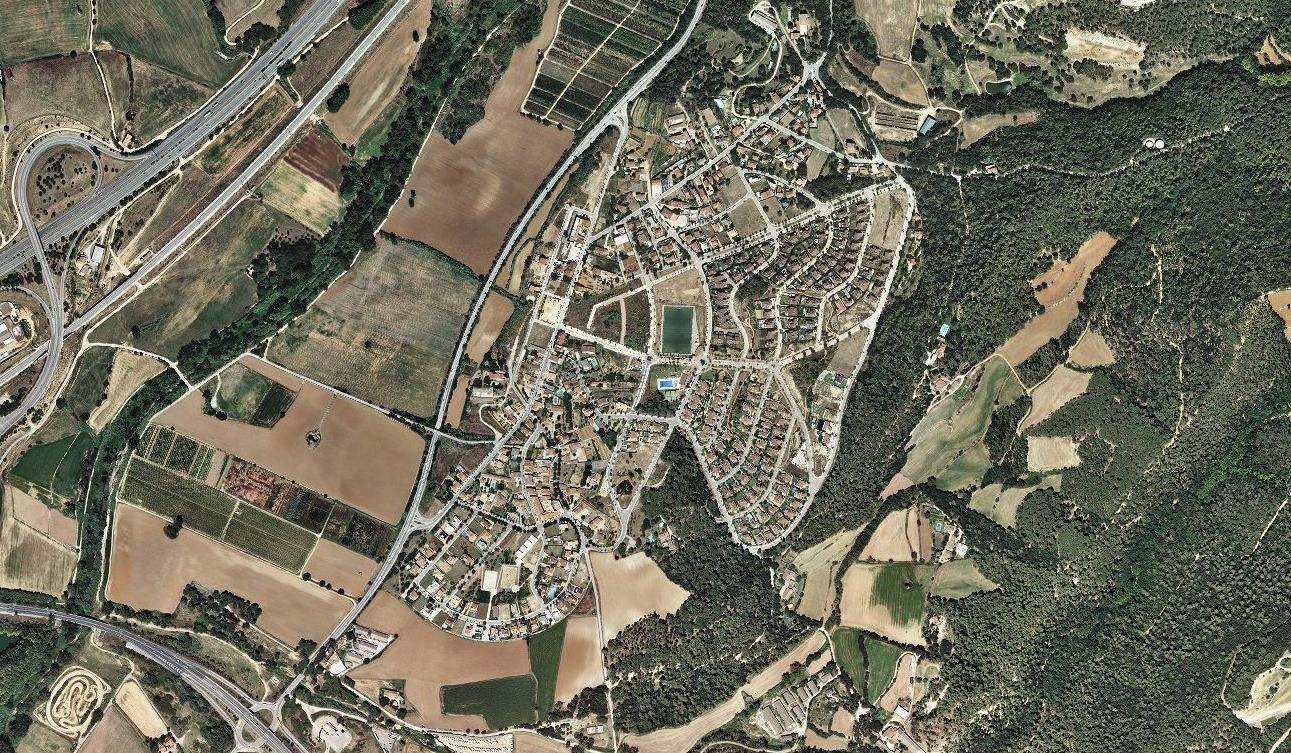 sant agnès de malanyes, barcelona, tres hojitas verdes, después, urbanismo, planeamiento, urbano, desastre, urbanístico, construcción, rotondas, carretera