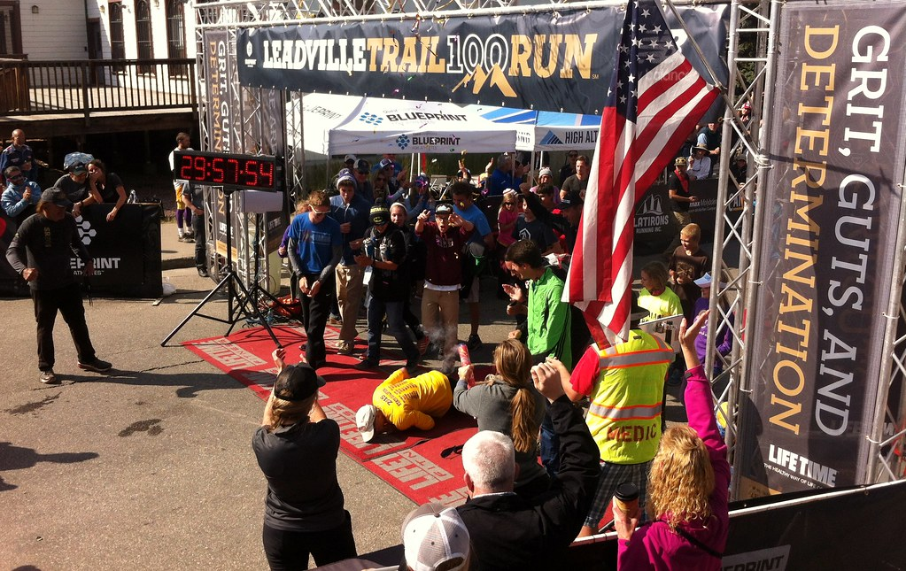 Leadville 100 last runner under 30 hours